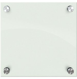 Enlighten Glass Dry Erase Markerboard - Gloss White