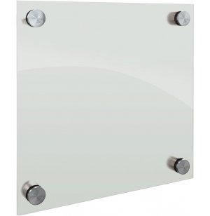 Enlighten Glass Dry Erase Markerboard - Frosted Pearl