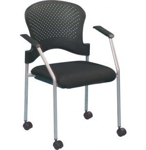 Breeze Guest Chair with Casters