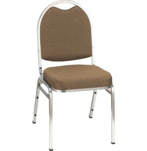 Dome Top Custom Stacking Chair - Chrome, Gr 2