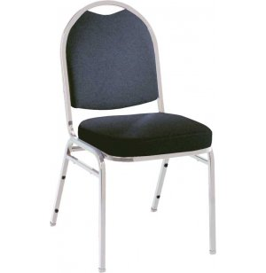 Dome Top Custom Stacking Chair- Chrome Frame