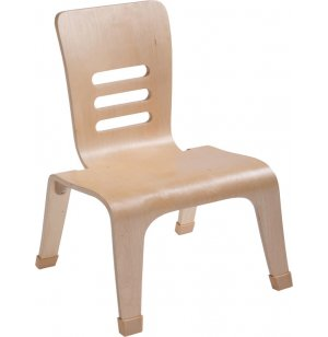 Natural Bentwood Chair Low & Wide