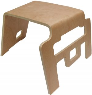 Interlocking Bentwood Stool