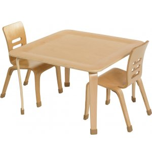 Square Bentwood Play Table