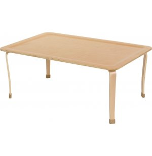 Bentwood Wooden Rectangular Classroom Table