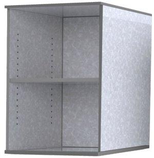 The Quad Pod Makerspace Storage - Bookshelf Module
