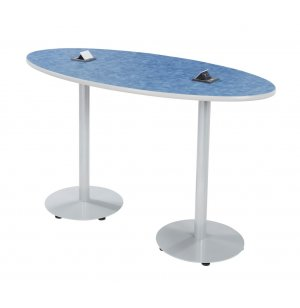 Boost Oval Café Table - Bar Height