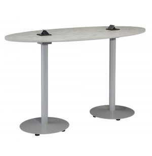 Boost Oval Café Table - Standard Height