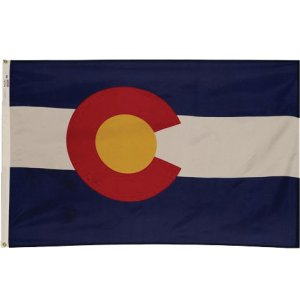 Nylon Outdoor Colorado State Flag