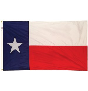 Nylon Outdoor Texas State Flag