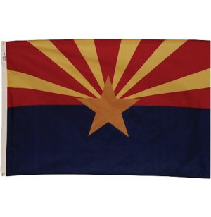 Nylon Outdoor Arizona State Flag