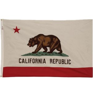 Nylon Outdoor California State Flag