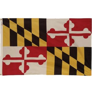 Nylon Outdoor Maryland State Flag