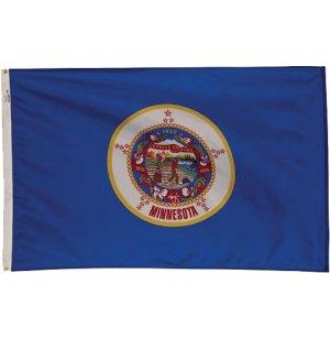Nylon Outdoor Minnesota State Flag