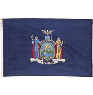 Nylon Outdoor New York State Flag