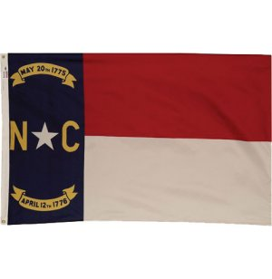 Nylon Outdoor North Carolina State Flag