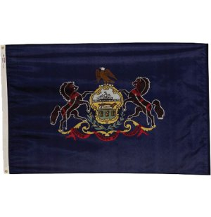 Nylon Outdoor Pennsylvania State Flag