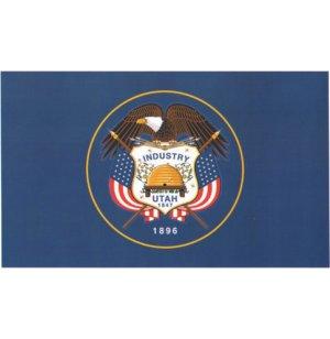Nylon Outdoor Utah State Flag