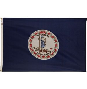 Nylon Outdoor Virginia State Flag