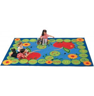 ABC Caterpillar Rectangular Carpet