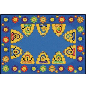 Busy Bee ABC Rug