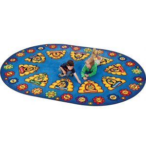 Busy Bee ABC Oval Rug