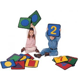 Set of 20 Letters Numbers for Carpet