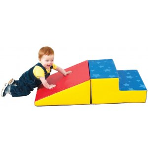 Basic Soft Play Steps and Slide Set