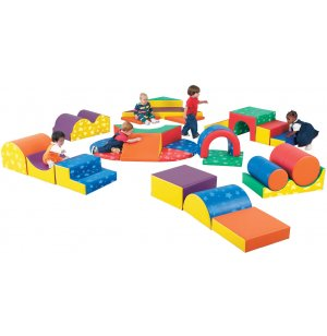 Gross Motor Play Set of 28 Shapes