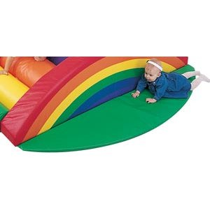 Optional Safety Pad Set for Soft Play Rainbow Arch Climber