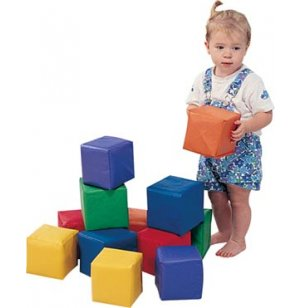 Toddler Baby Blocks Set of 12