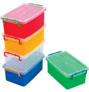 Extra Jumbo Cubby Bin for Preschool Storage