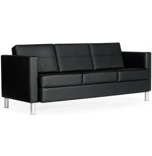 CITI Leather Three-Seat Sofa