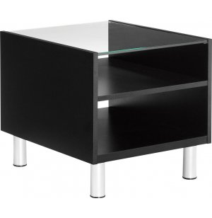 CITI Series Laminate and Glass End Table