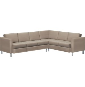 CITI Series Left Corner 6-Seat Leather Sofa
