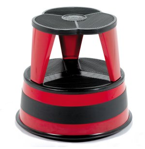 Kik-Step Rolling Steel Step Stool