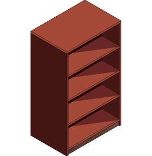 Laminate Double-sided Library Shelving