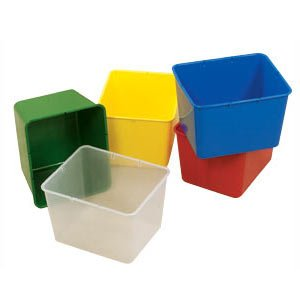 Extra Large Plastic Cubby Storage Bin
