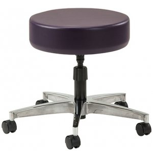 Medical Exam Stool with Spin Lift Adjustment