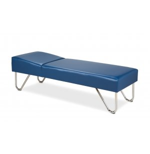 Chrome Leg Medical Cot