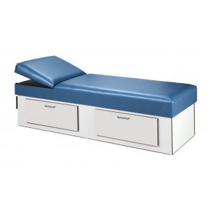 First Aid Recovery Couch with Double Drawer Storage