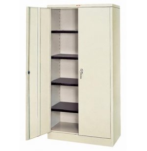 Heavy Duty Steel Cabinet 400lb Cap.