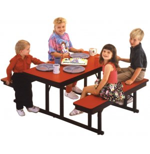 Preschool Table Bench Unit