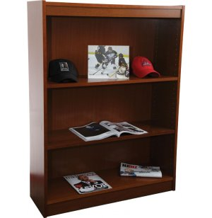 Contemporary Wood Veneer Bookcase Excalibur