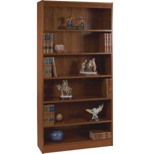 Contemporary Wood Veneer Bookcase Excalibur