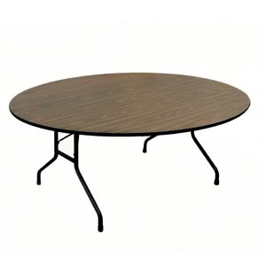 Plywood Round Folding Table