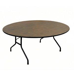 Plywood Round Folding Table