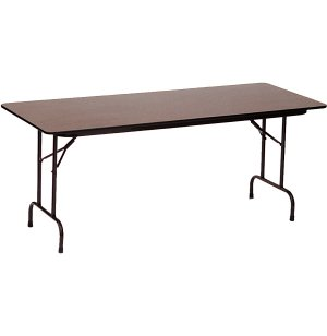 Plywood Rectangular Folding Table- Adj Height