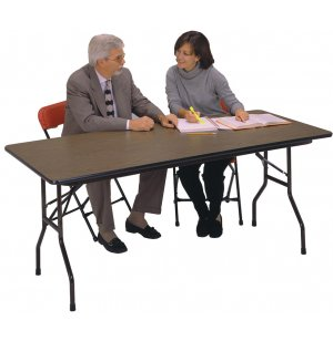 Plywood Top Rectangular Folding Table