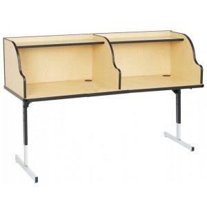 8700 Series Quad Study Carrel 60x36